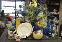 Spring Decor Ideas / Spring Decor ideas from Amish Country Peddler