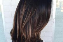 Idées mèches pour cheveux bruns
