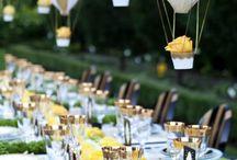 Hängende Hochzeitsdekoration