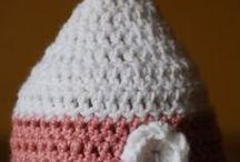 크로셰 모자 패턴