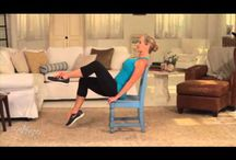 Chair pilates and fitness