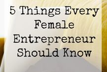 Female Entrepenuer Goodie board / Business tips, quotes, and more for the female entrepreneur !
