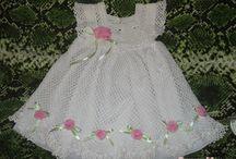 vestidos croche