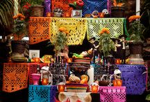Día De Muertos: A Celebration / Calaveras, sugar skulls, candy, cempasúchil flowers, catrinas. All elements that celebrate one of the most important dates in Mexican culture.