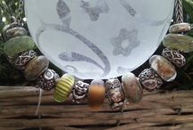 """Bracelets including """"Summersday"""" Beads / Summersday beads meet other european style beads. www.summersday.de Summersday combined with trollbeads"""