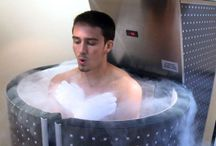 Cryotherapy / Whole body wellness through cryotherapy treatment
