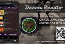 DecomRradio / Conheça DecomRradio  Ouça a sua rádio preferida diretamente do seu computador e Smartphone.