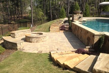 Hardscape/Accessories / Different ideas and add-ons to new pools or renovations by RCS Pool and Spa in the Atlanta area