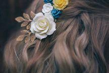 Cheveux coiffures / La plus belle des parures