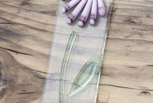 fused glass suncatcher