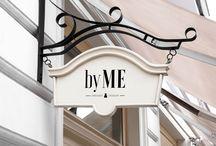 """Фирменный стиль. Магазин платьев """"by ME"""""""