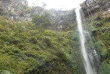 Coban Rondho / A waterfall which is located on the slope of Mount Panderman, it's about 32 km from Malang
