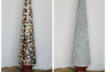Christmas trees / by Tiffany Whitten