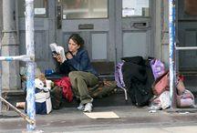 Wake Up, America!!! Pray!!!! NYC Homeless Population / by Christine Craig