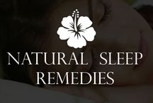 Natural Remedies For Sleep / Simple & Creative Ways to Create A Relaxing Oasis In Your Bedroom, natural sleep aids and other ways to induce relaxation and sleep peacefully.
