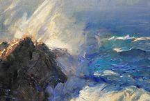 Gordon Brown paintings