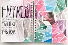 ART JOURNAL- my 2016 pages