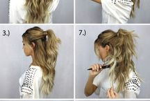 Hairstyles / Pretty hair styles to try :-)