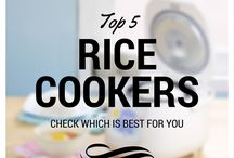 Rice Cookers and Rice Dishes
