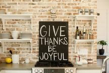 give thanks / by ◒◕megan fogliano◕◒