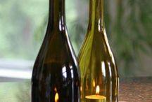 Lámparas de botella