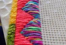 борджелло или гобленовая вышивка
