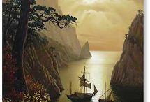 Sea and ships / 海、船、魚など