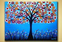 Dipinti acrilici