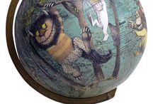 globes / by Karen Elshoff