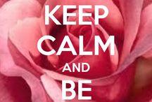 Keep Calme And