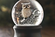Snow magic globe
