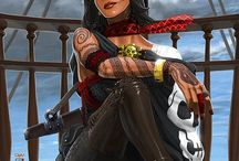 Pirates! / by David St. Albans