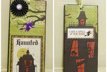 Halloween & Día de Muertos / Tarjetas, Paper Crafts, Reciclaje y más