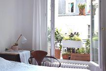 mini balcon plantes
