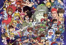 Anime/Cartoon/Fanart/Fangasm / Anime and Manga I know and like/love. Fanart and cute cartoons.