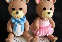 Narodeninové torty medvedík