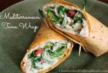 Recipes - Healthy Wraps / All my favorite healthy wrap recipes in one convenient place! / by Mavis Butterfield