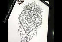Tatuagem para elas❤