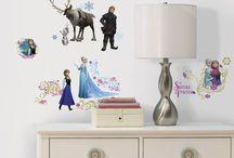 Disney muurstickers / De leukste muurstickers voor kinderkamer of babykamer van Disney