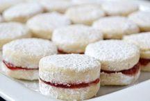 cukroví a zákusky, sladkosti