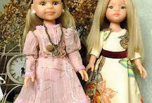 fashion dolls / одежда для кукол из моего ателье