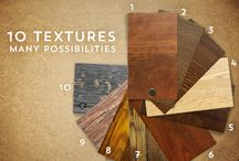 Colours and Textures - For the home