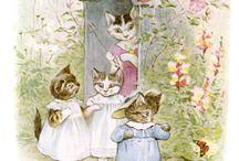 Artist - Beatrix Potter / Artist/Illustrator/English Countryside protector Beatrix Potter