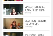 Youtube Videos❤️ / My channel name is Caroline.xo