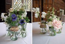A Modern Vintage / Gorgeous vintage inspired wedding flowers