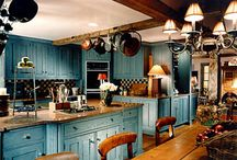 Country style interior design