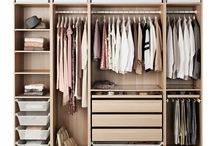 Closet / Ways to organize your clothes