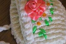Moje tvoření / Vyšívání, pletení, háčkování,pletení z papíru