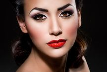 Jaren 50 make-up