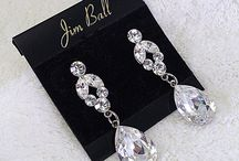 Complete The Look - Clear Crystal, Rhinestone, CZ, Faux Diamond Jewelry